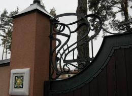 Кованые ворота Воронеж №146