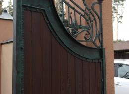 Кованые ворота Воронеж №147