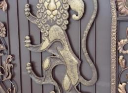 Кованые ворота Воронеж №9