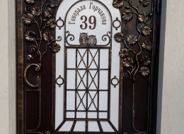Кованые ворота Воронеж №27