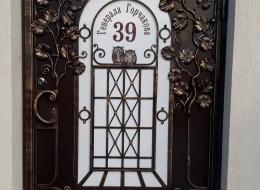 Кованые калитки Воронеж №40