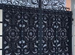 Кованые ворота Воронеж №109