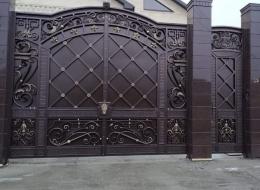 Кованые ворота Воронеж №110