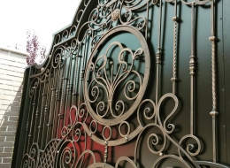 Кованые ворота Воронеж №112