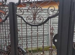 Кованые ворота Воронеж №113