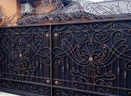 Кованые ворота Воронеж №60
