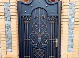 Кованые ворота Воронеж №26