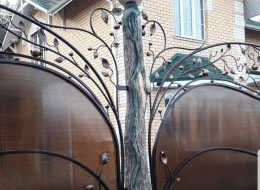 Кованые ворота Воронеж №53