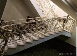 Кованая лестница Воронеж №124