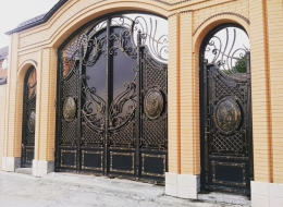 Кованые ворота Воронеж №115