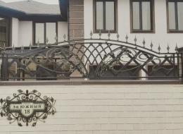 Кованые ворота Воронеж №135