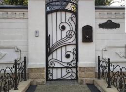 Кованые ворота Воронеж №137