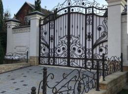 Кованые ворота Воронеж №138