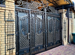 Кованые ворота Воронеж №119