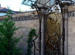 Кованые ворота Воронеж №122