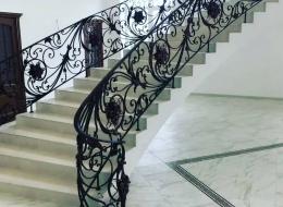 Кованая лестница Воронеж №193