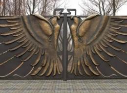 Кованые ворота Воронеж №123