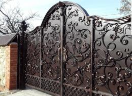 Кованые ворота Воронеж №124