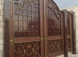 Кованые ворота Воронеж №125