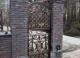 Кованые ворота Воронеж №126