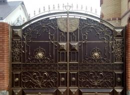 Кованые ворота Воронеж №127