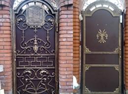 Кованые ворота Воронеж №129