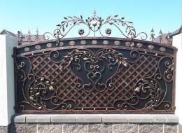 Кованые ворота Воронеж №130