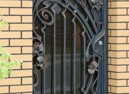 Кованые ворота Воронеж №133