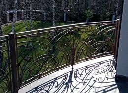 Кованые балконы Воронеж №98