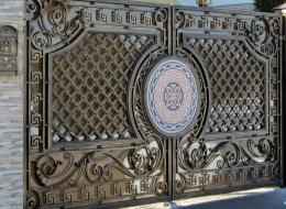 Кованые ворота Воронеж №21