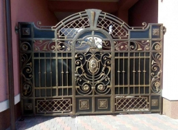 Кованые ворота Воронеж №74