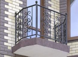 Кованые балконы Воронеж №148