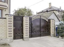 Кованые ворота Воронеж №218