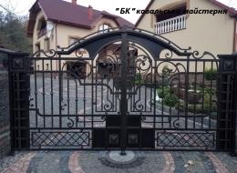 Кованые ворота Воронеж №75