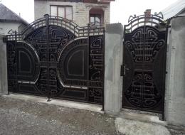 Кованые ворота Воронеж №76