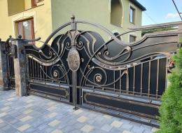 Кованые ворота Воронеж №77