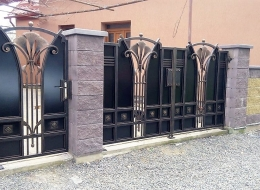 Кованые ворота Воронеж №78