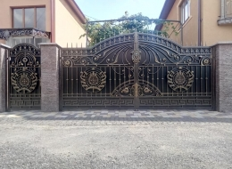 Кованые ворота Воронеж №79