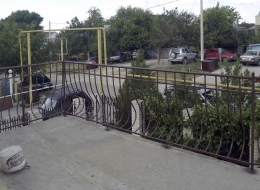 Кованые перила для крыльца на улице Воронеж №160
