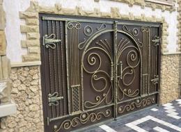 Кованые ворота Воронеж №219