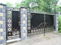 Кованые ворота Воронеж №81