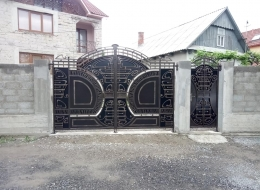 Кованые ворота Воронеж №82