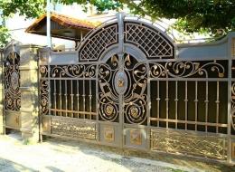 Кованые ворота Воронеж №52