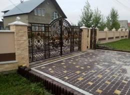 Кованые ворота Воронеж №84
