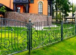 Кованые ворота Воронеж №19