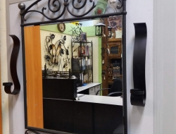 Кованое зеркало в Воронеже