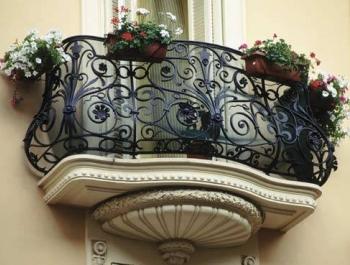 Перила, балконы и ограждения