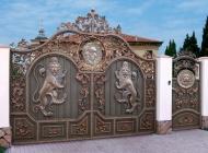 Заказать Кованые ворота Воронеж №2