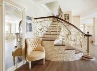 Кованая лестница 34