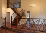 Кованая лестница 40